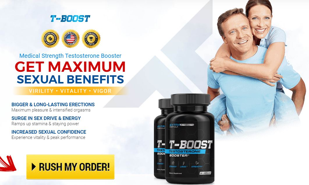 Buy T-Boost Testosterone Booster