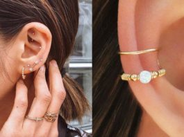 cute ear piercings ideas