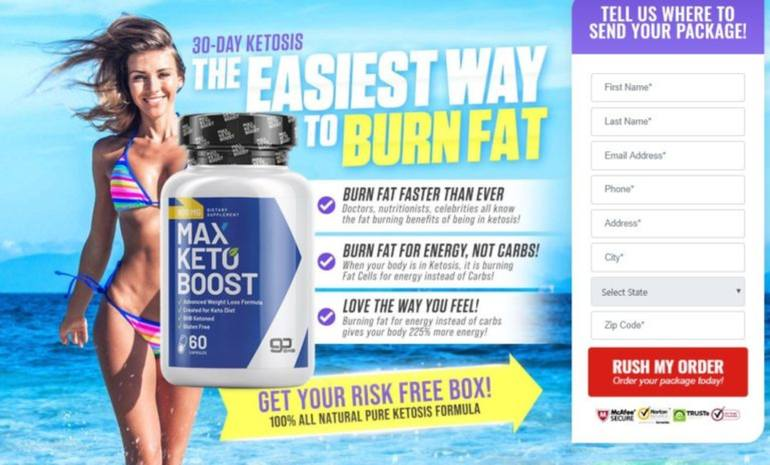 Max Keto Boost Reviews
