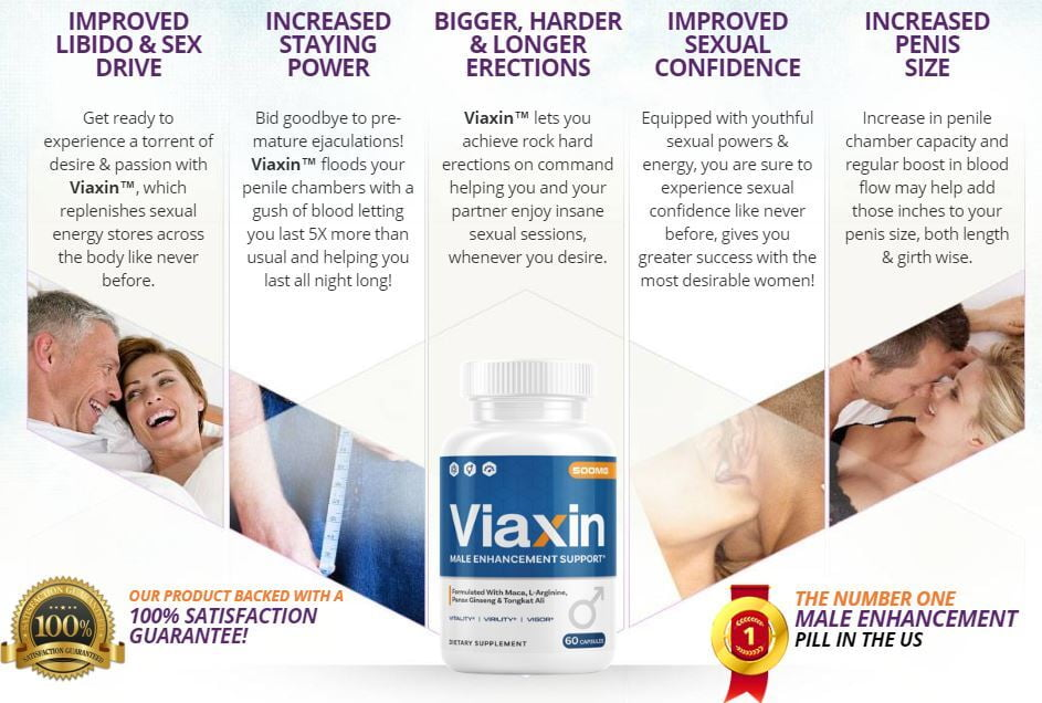 Sexual Benefits of Viaxin Male Enhancement