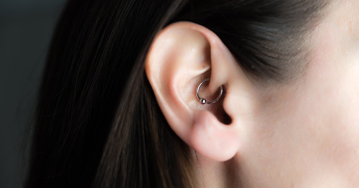 daith piercing pain level