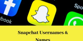 Cute Snapchat Names for Your Girlfriend