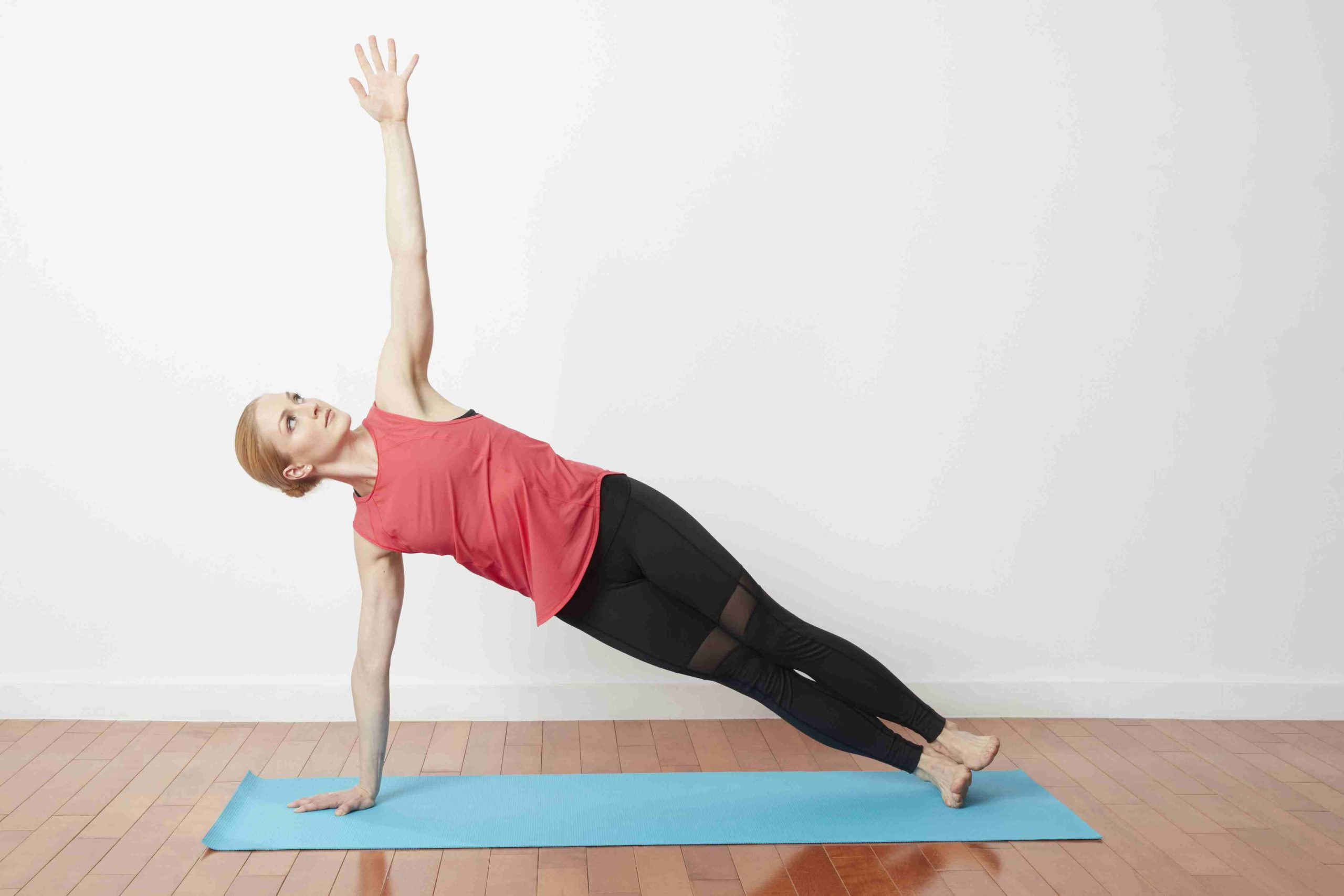 One-Arm Side Plank Exercise