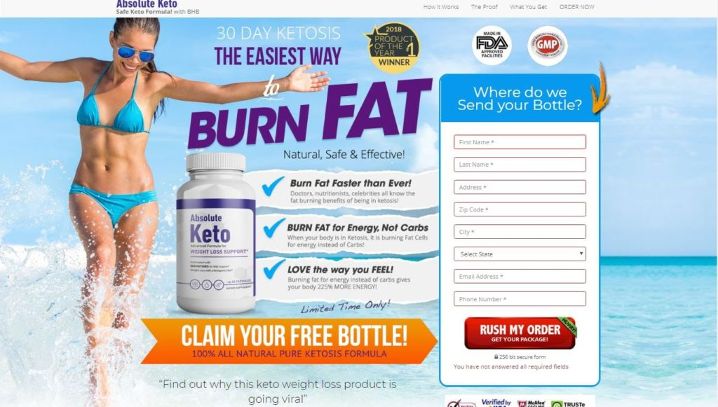 Absolute Keto Reviews