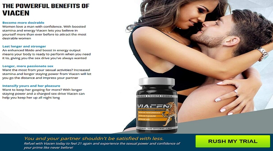 Benefits of Viacen Male Enhancement