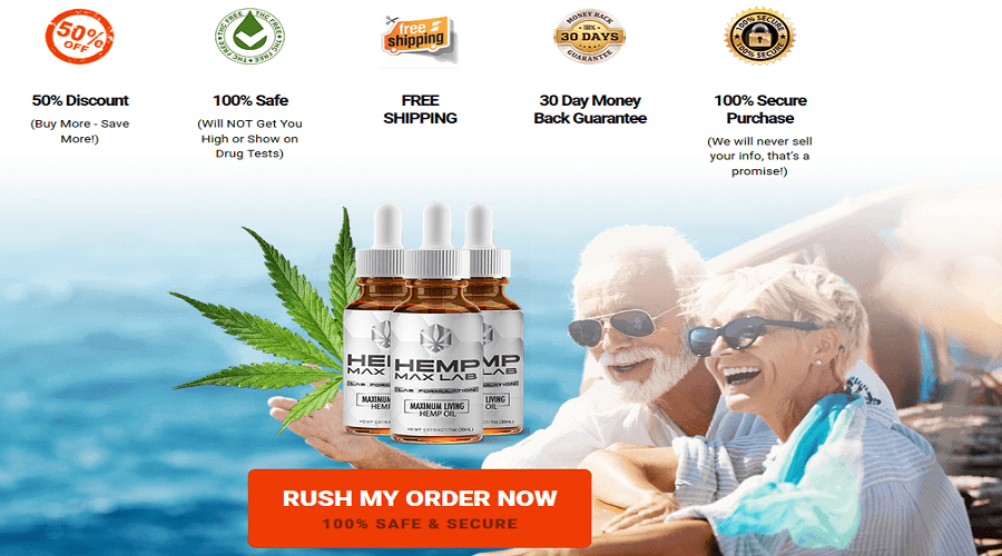 Buy Hemp Max Lab Oil
