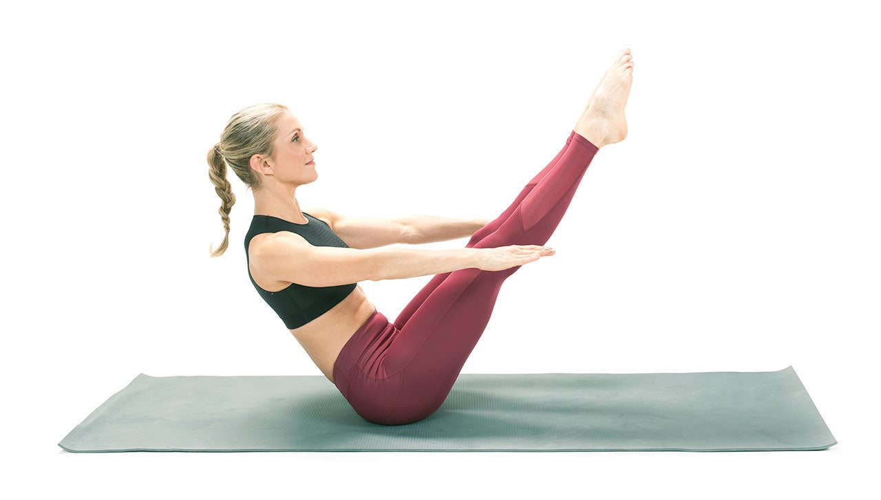 Boat Pose Exercise