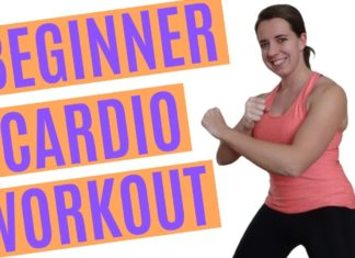cardio exercise at home for beginners