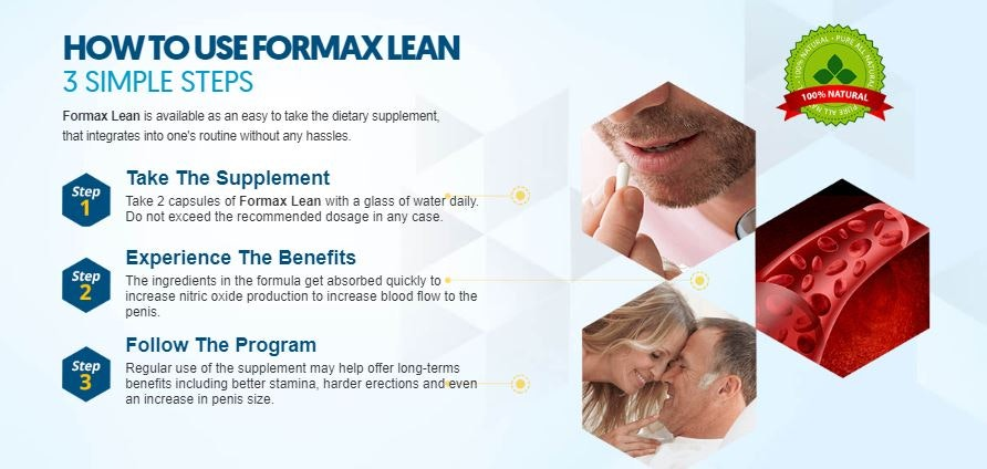How Does Formax Lean Male Enhancement Work?