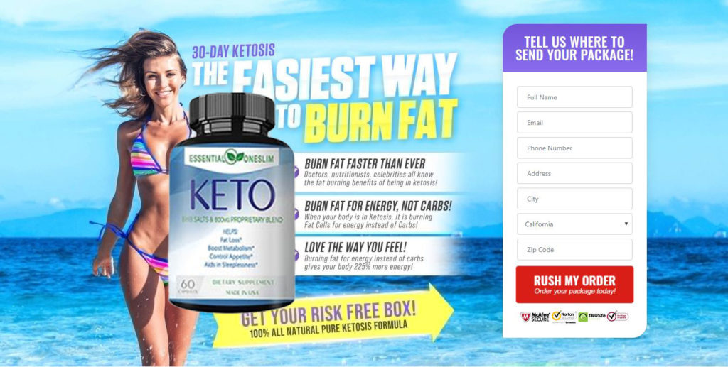 Essential One Slim Keto Reviews