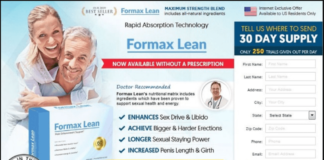 Formax Lean Male Enhancement Reviews