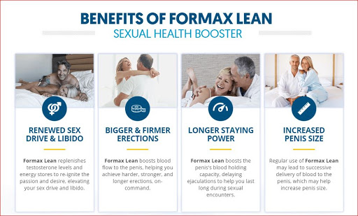 Advantages of Formax Lean Male Enhancement