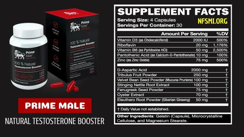 Fixings in Prime Male Enhancement