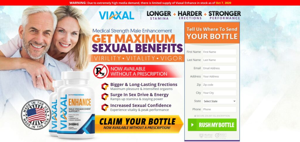 Viaxal Male Enhancement